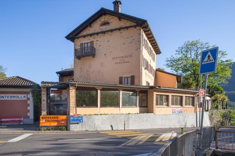 Ristorante con alloggio a Ponte Brolla / Restaurant mit Unterkunft in Ponte Brolla (1)