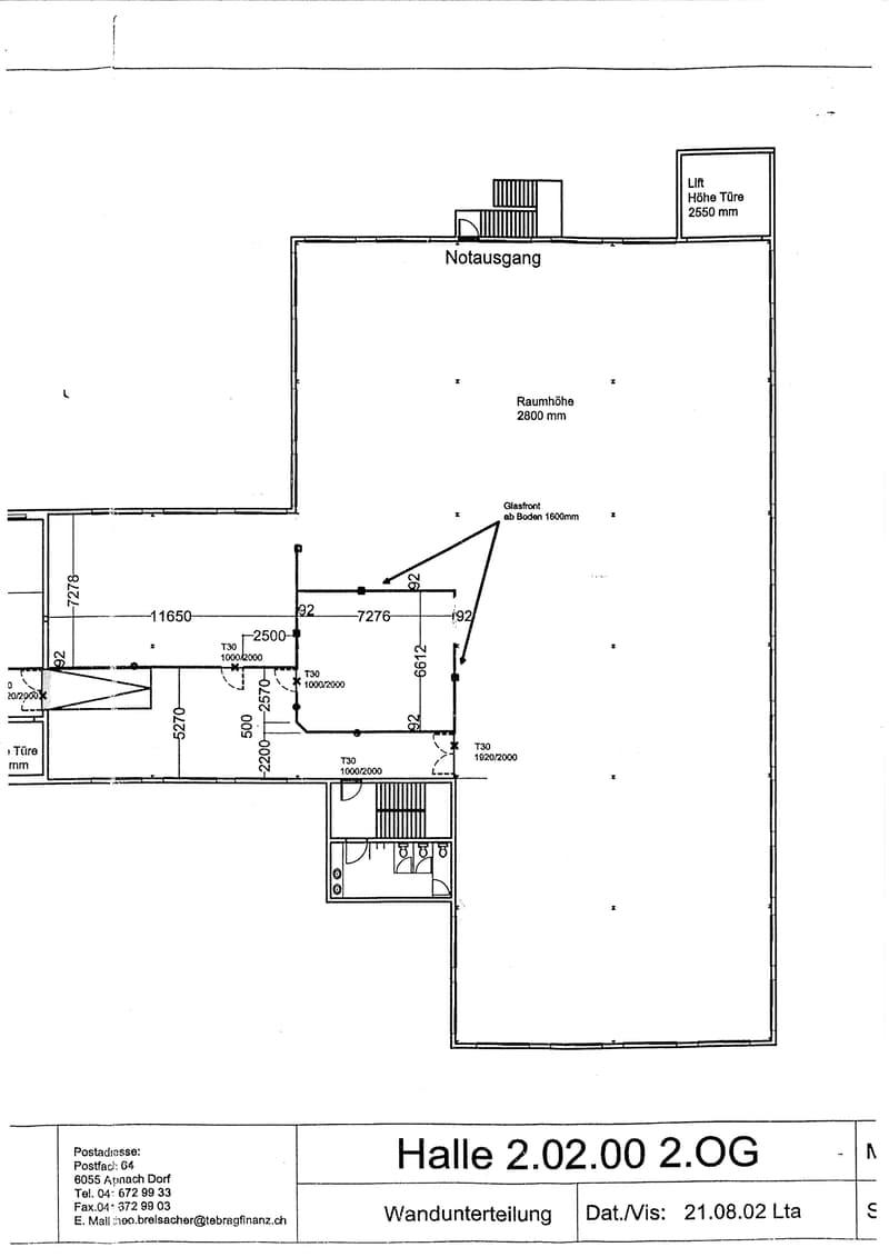 Gewerberäume für Fabrikation, Büro, Ausstellung und Lager (2)