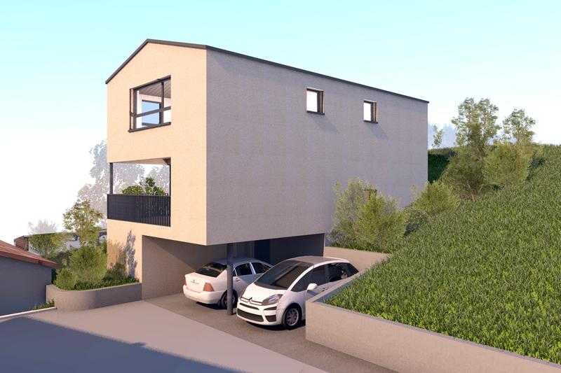 Nuovo progetto per una bella Casa Unifamiliare in zona tranquilla (2)