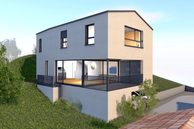 Nuovo progetto per una bella Casa Unifamiliare in zona tranquilla (1)