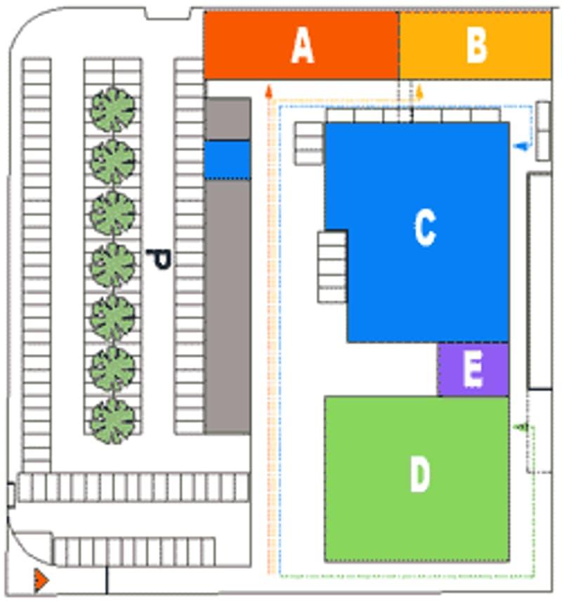 Spezio Polus affittasi magazzino di 140 mq al PC, Settore D (4)