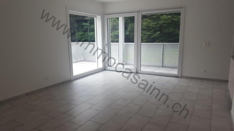 Nuova casa unifamiliare nel verde a Cassina d'Agno (2)