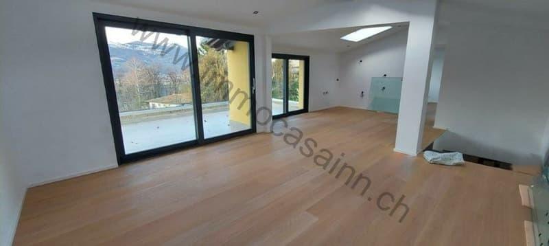 Nuova casa trifamiliare a Montagnola (2)