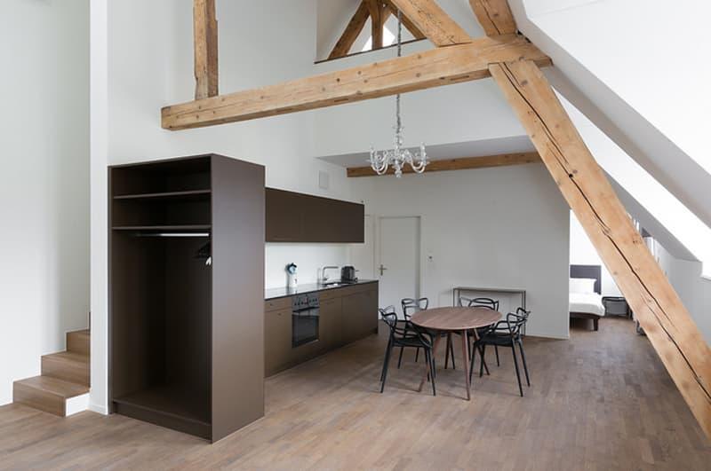 Möblierte Wohnung mit Service zentral gelegen in Ennetbaden (1)