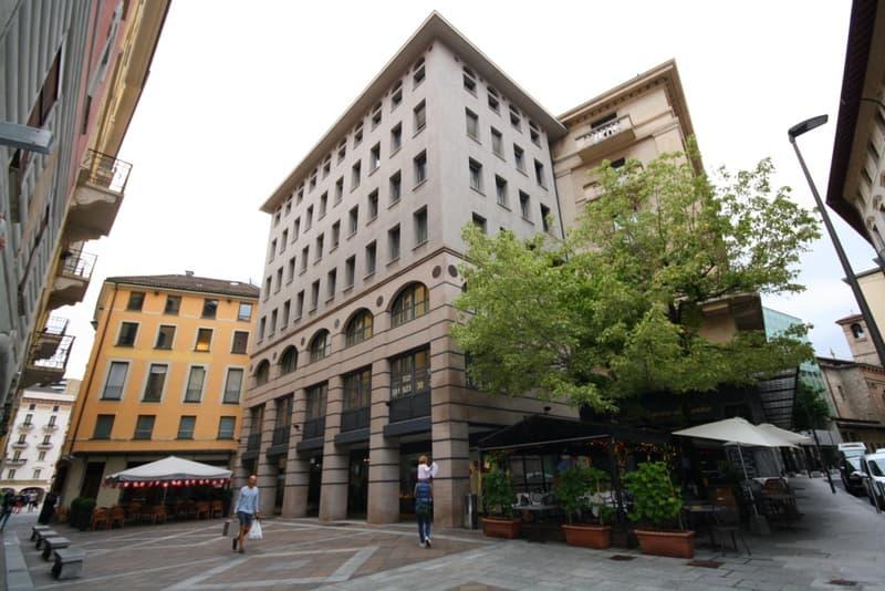 Uffici da 220 m² a 440 m² nel cuore di Lugano (1)