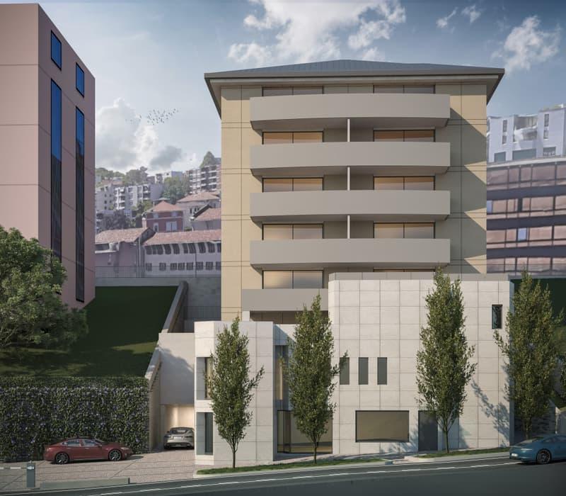 Nuovi uffici nel cuore di Lugano con autorimessa (1)