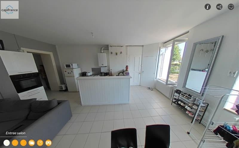 Dpt Loire (42), à vendre SAINT GENEST LERPT appartement T3 (2)