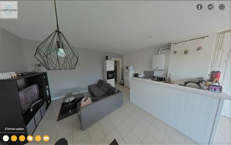 Dpt Loire (42), à vendre SAINT GENEST LERPT appartement T3 (1)