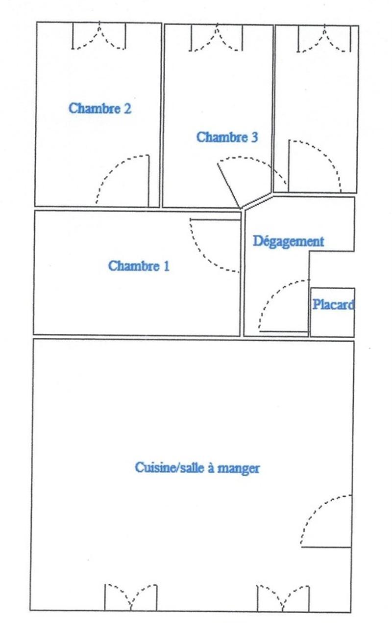 Dpt Loire (42), à vendre SAINT GENEST LERPT appartement T3 (6)