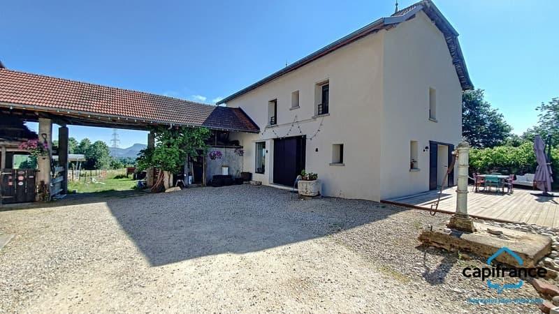 Dpt Isère (38), à vendre CHIMILIN maison P7 de 200 m² - Terrain de (2)