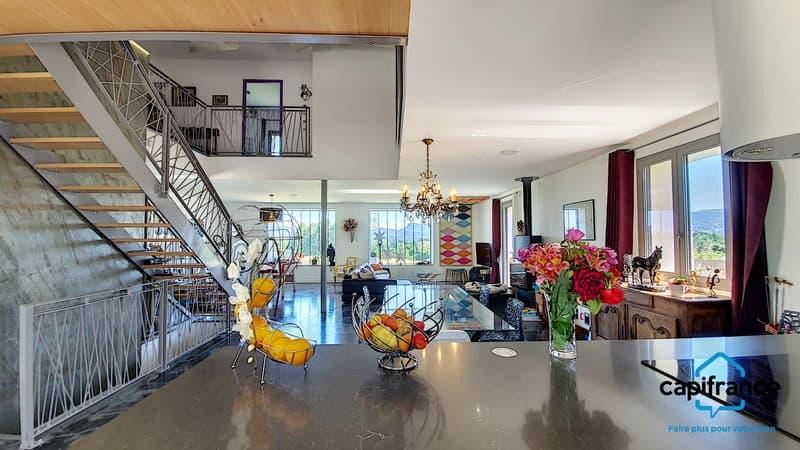 Dpt Isère (38), à vendre CHIMILIN maison P7 de 200 m² - Terrain de (1)