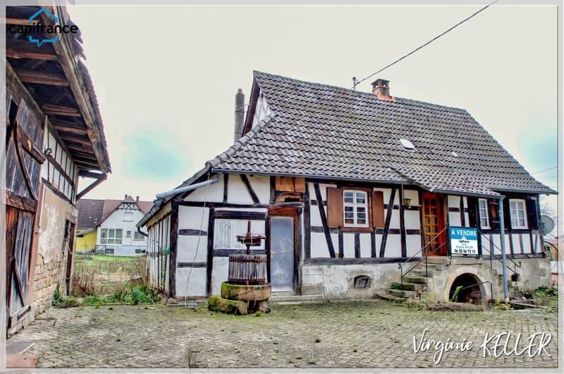Dpt Bas-Rhin (67), à vendre DRACHENBRONN BIRLENBACH Corps de ferme (2)