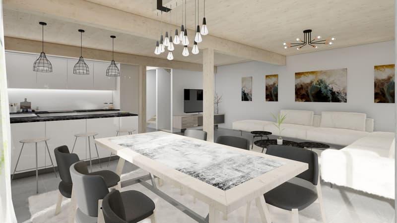 Nouveau quartier résidentiel de 4 villas individuelles (2)