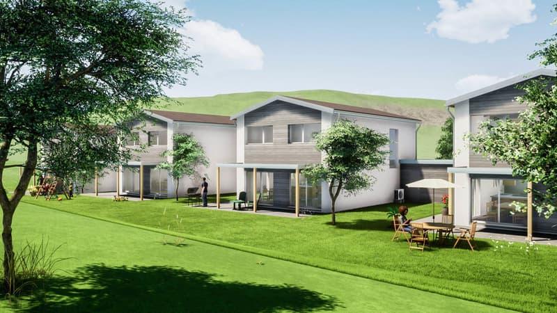 Nouveau quartier résidentiel de 4 villas individuelles (5)