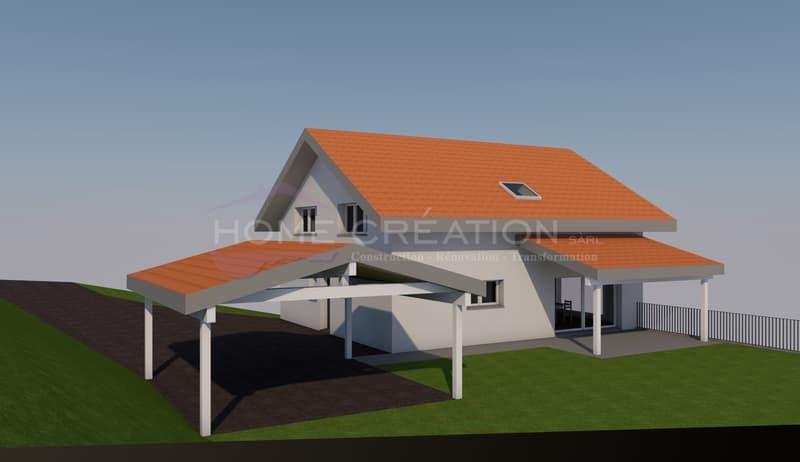 Projet villa individuelle sur plans à créer (2)