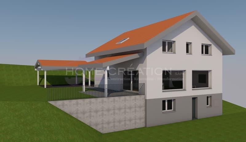 Projet villa individuelle sur plans à créer (1)