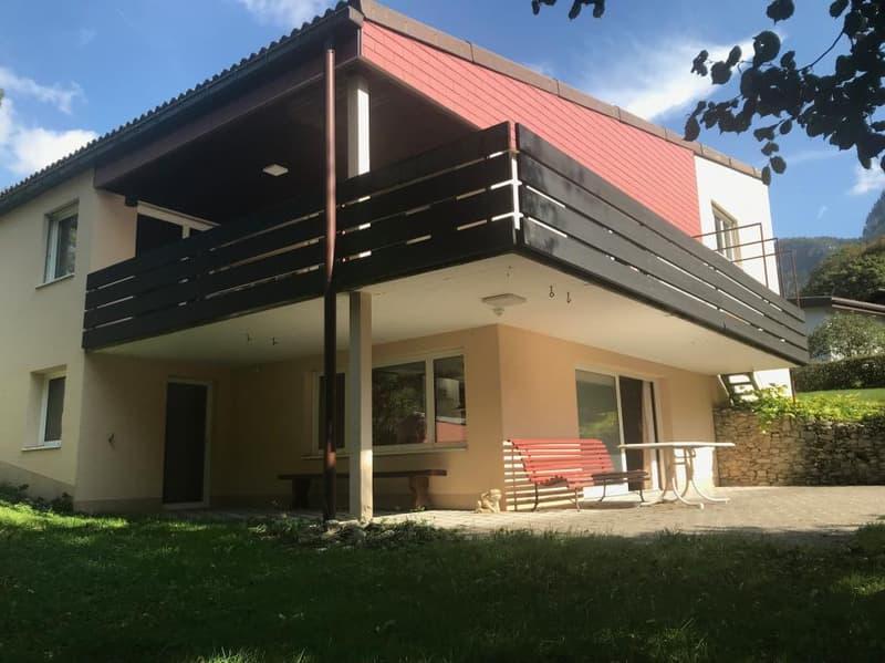 Agréable maison avec terrasses grand jardin, calme et vue
