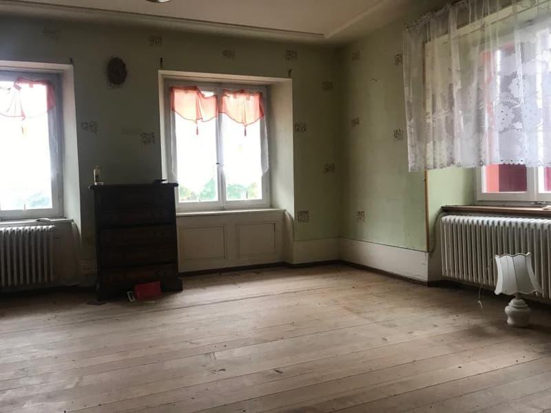 Chambre du 1er étage, avec parquet