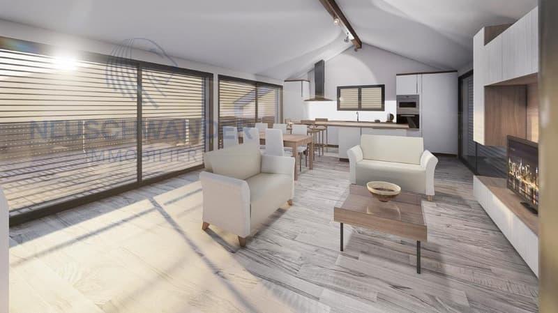 Appartement 3.5 pièces - 89 m2 - 1er étage - (1)