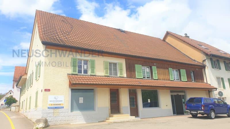Immeuble mixte de plusieurs locaux (1)