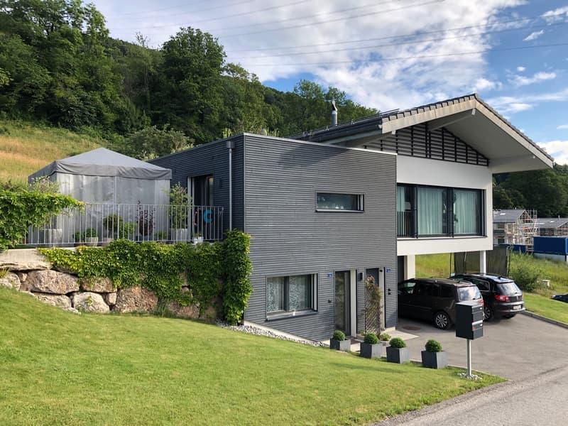 Magnifique maison moderne à louer de suite aux Monts-de-Corsier (1)