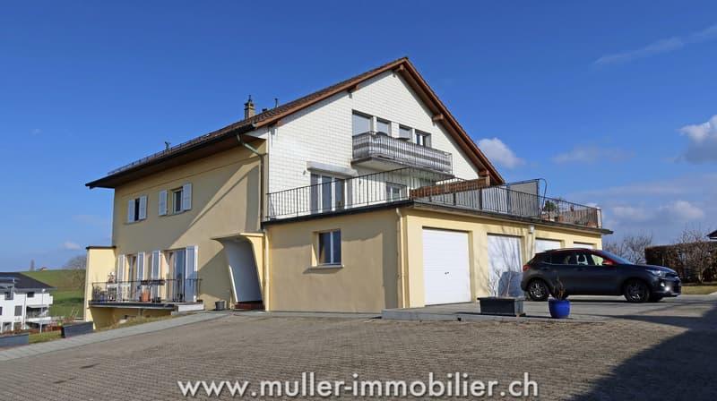 Immeuble de 5 appartements à Châtonnaye (FR) (1)