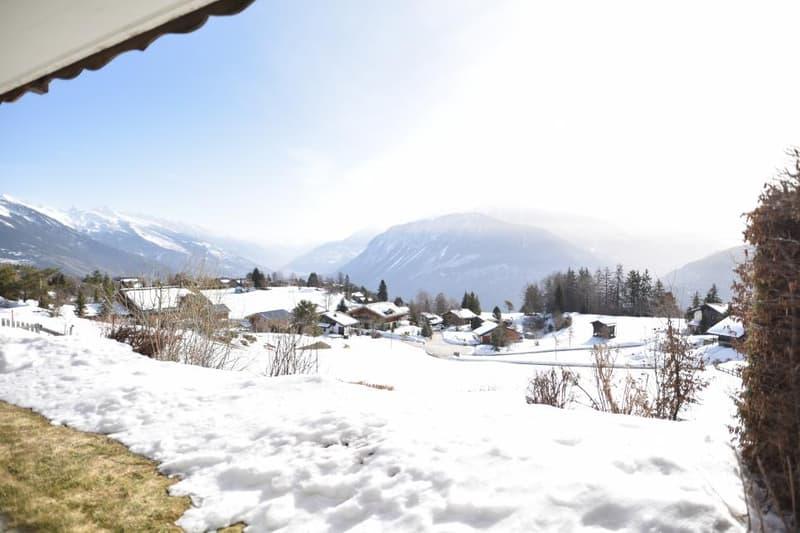 Joli appartement avec une belle vue sur les Alpes (8)
