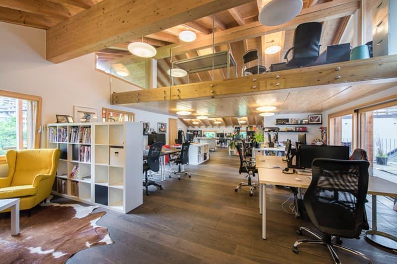 Verbier Le Châble : A louer bureaux showroom (1)