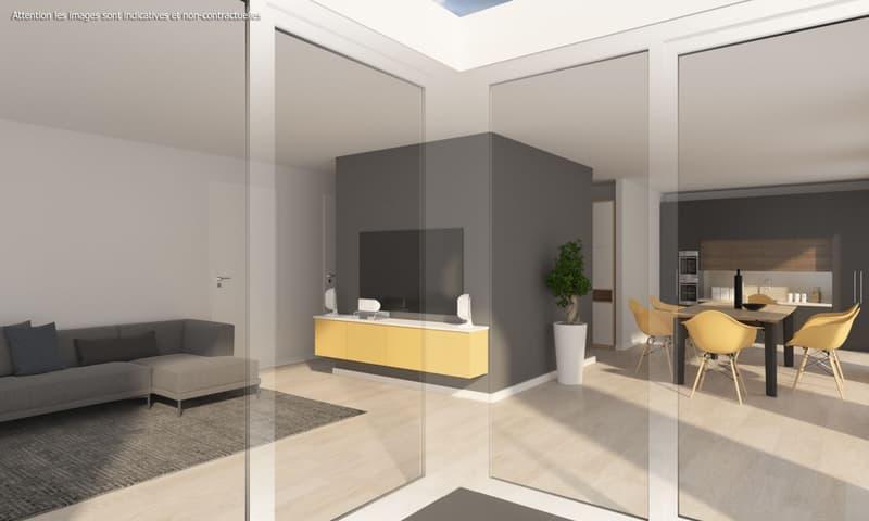 4,5 pièces neuf avec terrasse de 38 m2 et jardin privatif de 174 m2 (2)