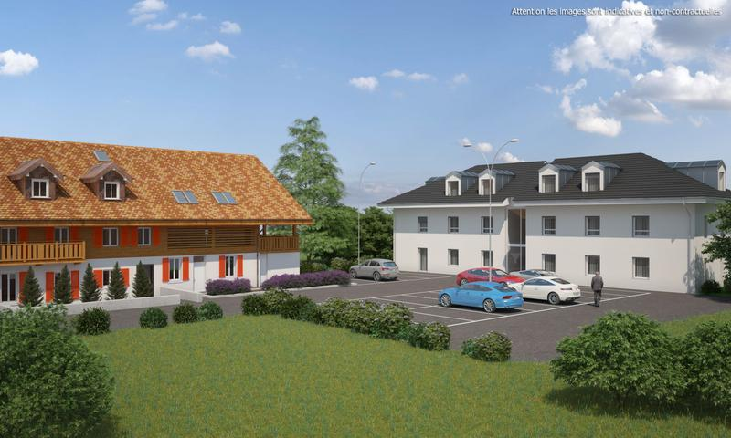 2,5 pièces neuf avec terrasse de 30 m2 et jardin privatif de 44 m2 (2)