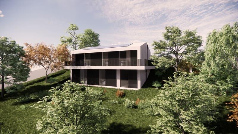 LAVAUX - Superbe Villa individuelle à vendre sur plans (1)