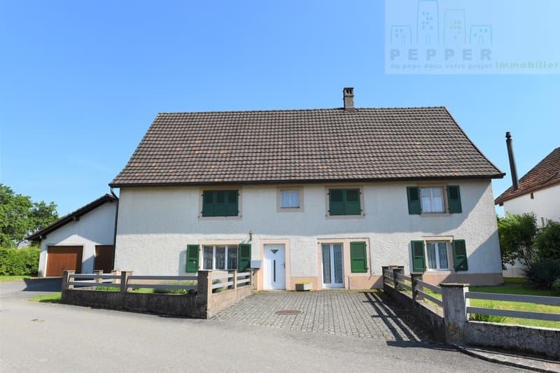 Grande maison familiale avec une parcelle arborisée de 2000 m2. (1)