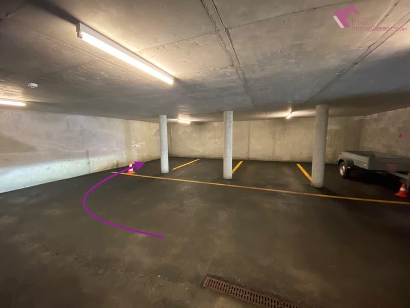 Ovronnaz - Place de parc dans parking souterrain fermé (3)
