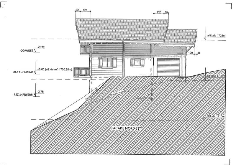 TERRAIN CONSTRUCTIBLE 702 M2 AVEC PLANS - LES CROSETS (10)