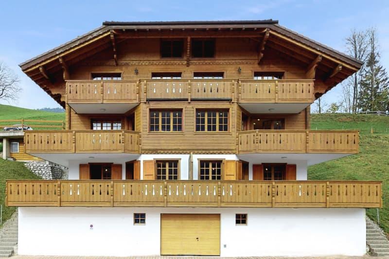 En exclusivité: Magnifique chalet de 3 appartements Duplex de standing (1)