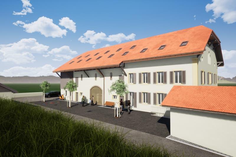 Rare : A vendre projet d'immeuble de rendement à St-Aubin ! (2)