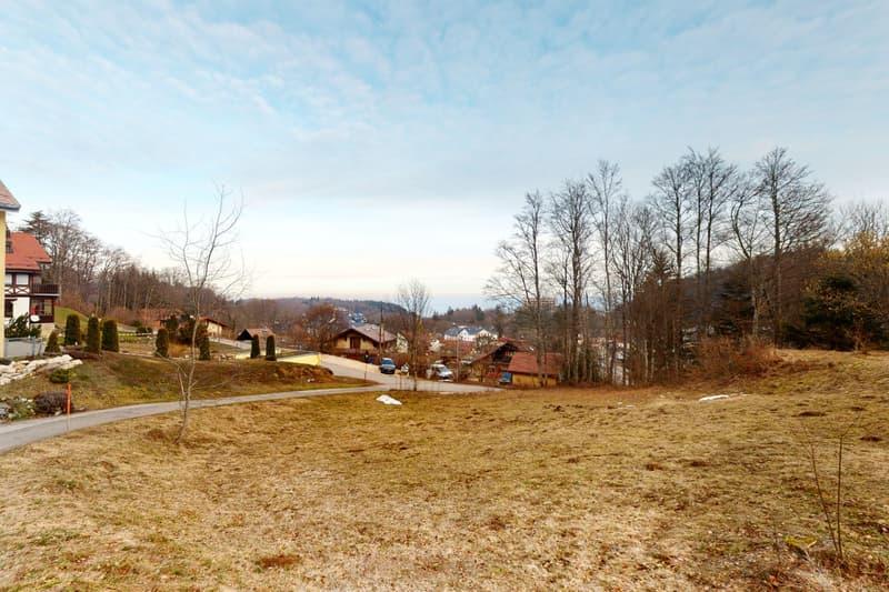 Terrain en zone villas et chalets, à 2 pas du centre de St-Cergue (1)
