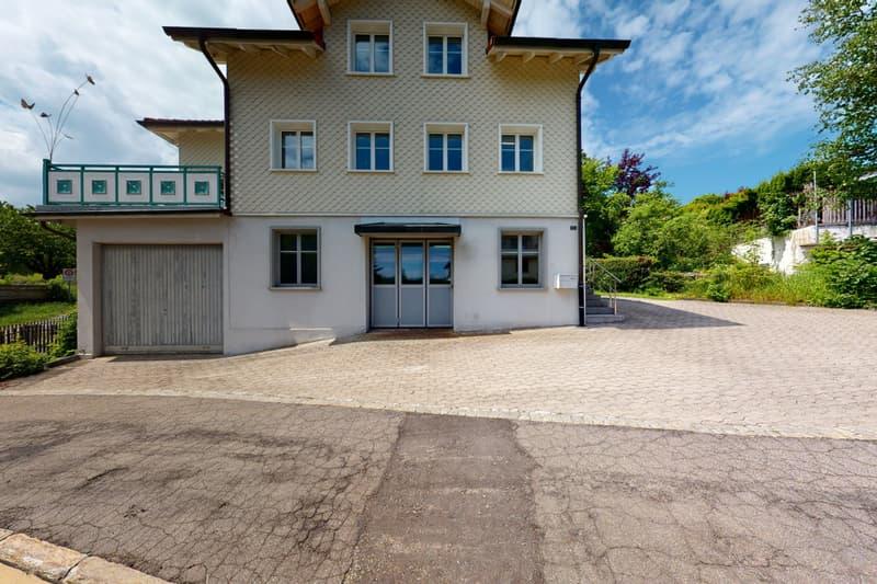 Grosszügiges Haus mit Werkstatt, Atelier und wunderbarer Gartenanlage (2)