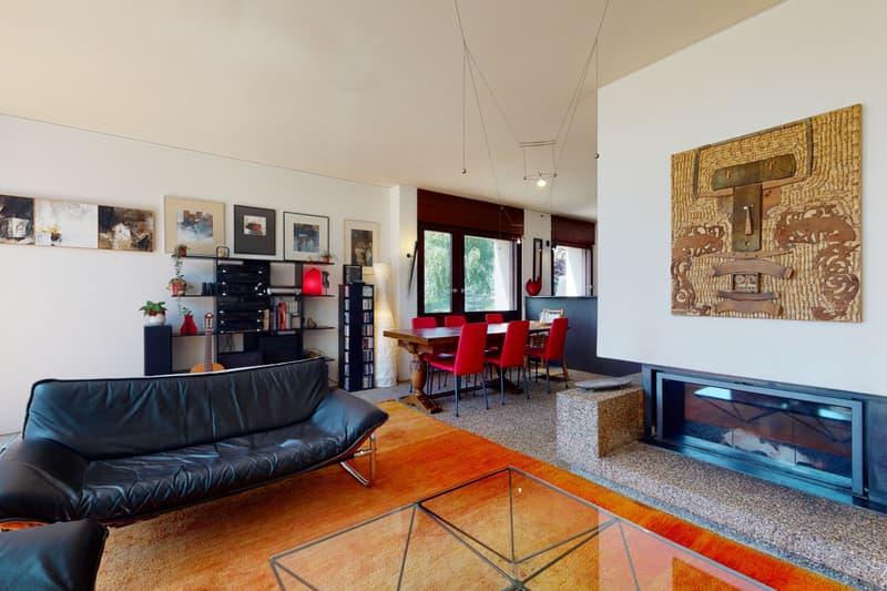 Grande maison mitoyenne au calme à Chailly-sur-Lausanne (2)