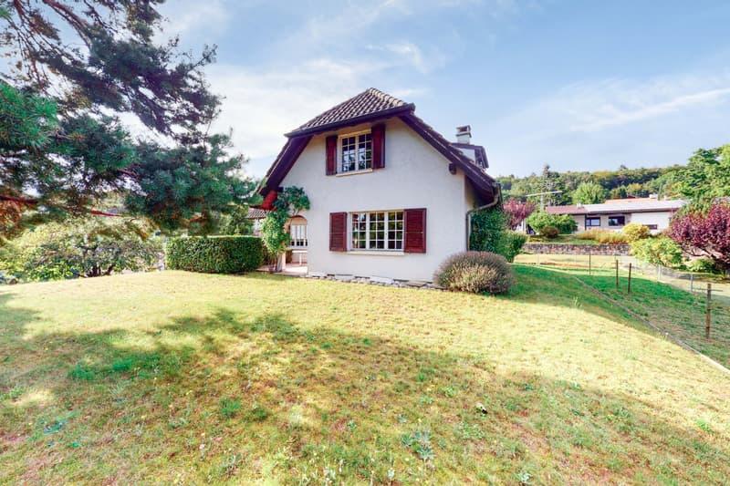 Au coeur du quartier villas de Sus-Châtel - Environnement verdoyant. (2)