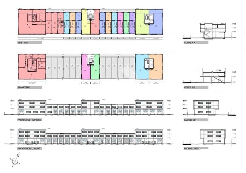 Halle industrielle de 231 m2 en béton armé au 2ème étage ! (13)