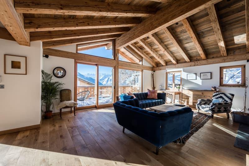 Renovated in 2020 weekly rental family chalet in Verbier (2)
