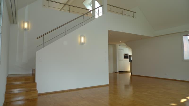 Grosszügige Dachgeschoss-Wohnung mit Galerie (Maisonette) (1)
