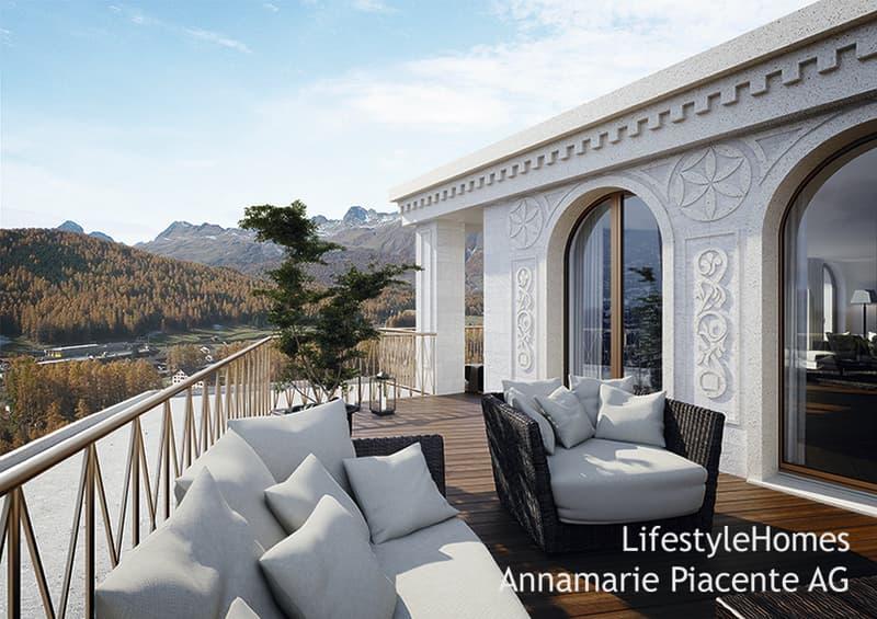 terrace Pontresina
