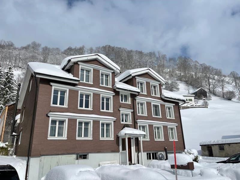 Vollvermietetes Mehrfamilienhaus mit 4 Wohnungen und Baulandparzelle (2)