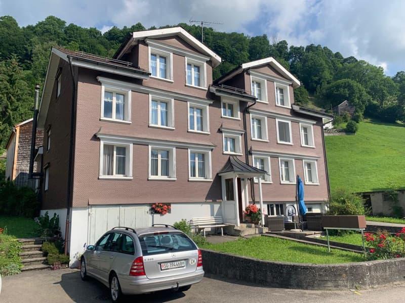 Vollvermietetes Mehrfamilienhaus mit 4 Wohnungen und Baulandparzelle (1)