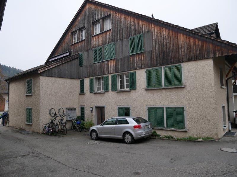 Renovierte 1.5-Zimmer-Wohnung im Grünen zu vermieten! (1)