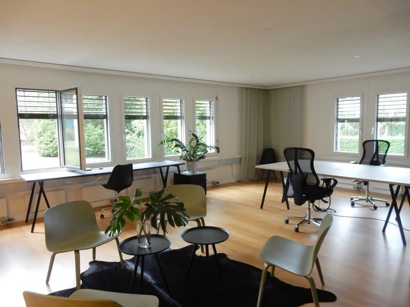Neu ausgebaute, top moderne Büros im Zentrum von Zollikon (2)