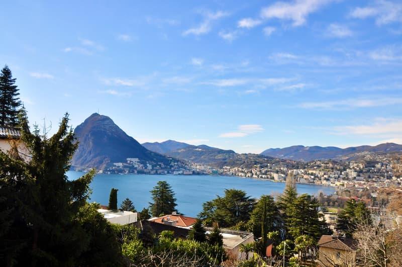 Esclusivo Terreno Edificabile con Vista Lago di Lugano a Ruvigliana (1)
