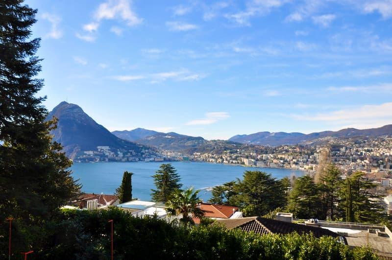 Esclusivo Terreno Edificabile con Vista Lago di Lugano a Ruvigliana (2)